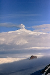 Castle Rock and Mt. Erebus